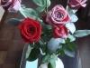 Розы с флоком