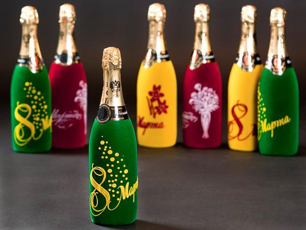 Флокирование бутылок своими руками мастер класс